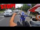 Неудачная погоня ДПС за кроссовым мотоциклом _ Пикап девушек на санчезе _ Кручу спиннер на 300 км_ч