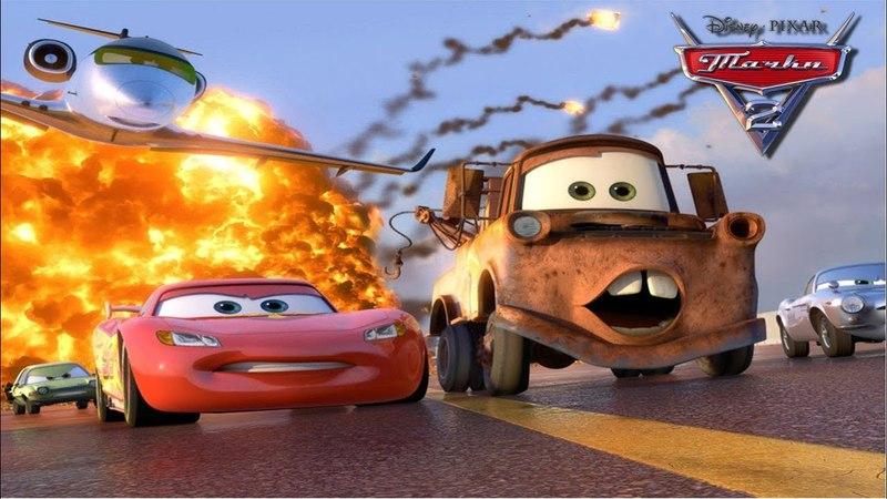 Мэтр и Молния Маккуин Тренировка (Прохождение Cars 2: The Video Game 1)