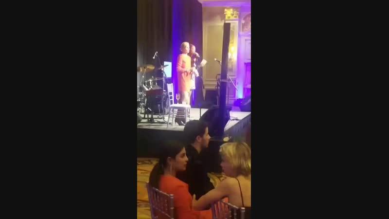 Приянка и Ник на благотворительном мероприятии в Лас-Вегасе