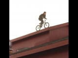 Chad Osburn BMX Roof riede drop 270