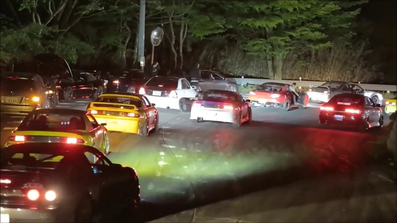 Drifting in Japan