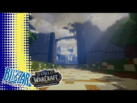 *Sponsored* World of Warcraft Meets Minecraft 'The Making of, Stormwind Keep