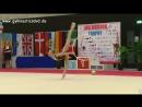 Екатерина Веденеева - обруч многоборье МТ Люксембург 2018