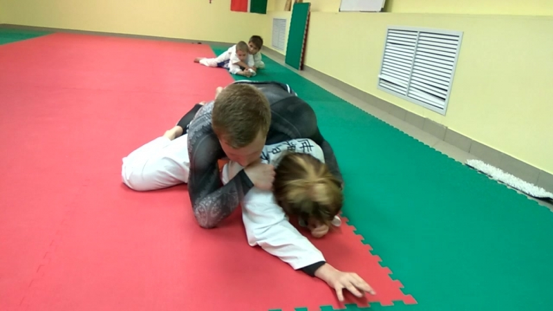 Grappling Class in Underground Crossroads Dojo 21 05 2018 6