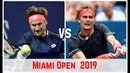David Ferrer vs Alexander Zverev Miami open 2019 Match Highlights