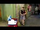 Mairi Mason Playing the Bagpipes in NYC