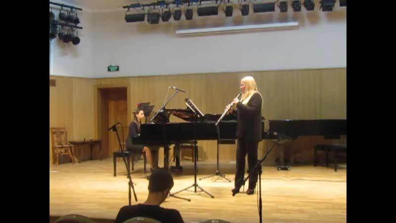 Серафим Майоров - Адажио и Алегро из сонатины для гобоя и фортепиано