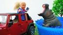 Giochi con le bambole Barbie Una passeggiata con mamma e papà