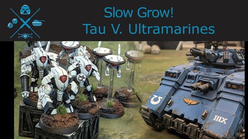 40k Tau vs Primaris Ultramarines 1500 point