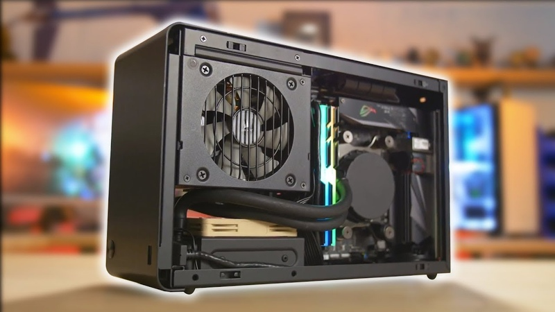 The smallest water cooled PC I've EVER built! DAN Case A4 SFX v3