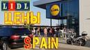 Цены на еду Испания Продукты из ЛИДЛ Бенидорм Spain foods price Lidl Supermarket