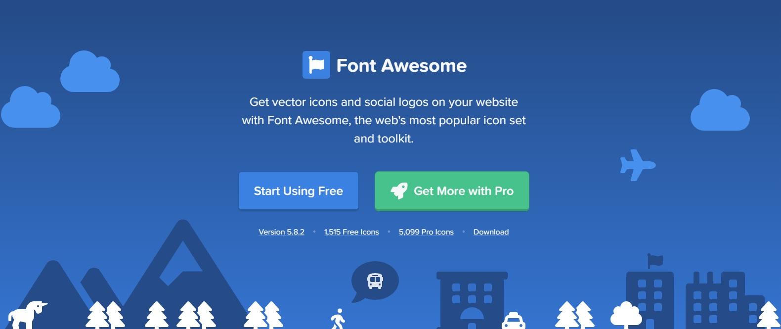 Font Awesome Pro v5 8 2 » KeyPage - сайт для веб-мастеров