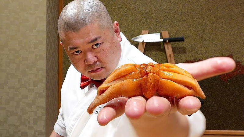 Japanese Food - $300 HIGH END SUSHI Teruzushi SUSHIBAE Japan