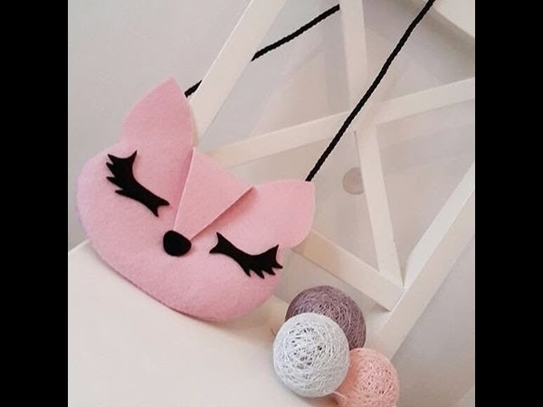 DIY Animal Face Bag| How to make Cat bag out of Felt In a simple way- HÀ CHÂU