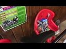 Обзор детского велокресла!