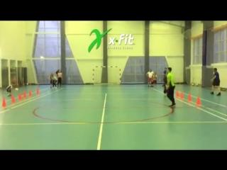 Футбол в Фитнес-Клубе X-Fit
