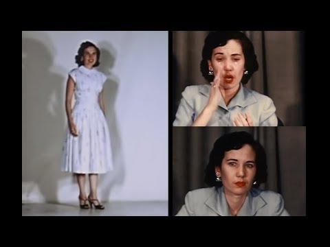 PART 2: Case study of multiple personality: Eve White, Black and Jane. 1950s psychiatric interview