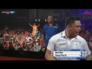 2018 International Darts Open Semi Final West vs Price