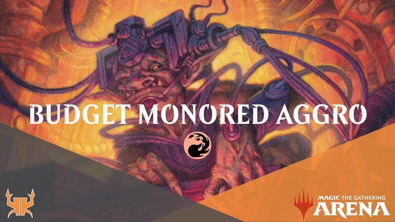 7 Win Budget Mono Red Aggro for New Ranked Ladder [MTG Arena]