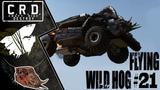 Crossout Tusk &amp Harvester FLYING WILD HOG #21 ver. 0.10.20