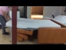 Katlanır yatak sistemi