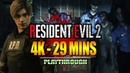 RESIDENT EVIL 2 Remake Demo in 4K 29 Minute Playthrough w Maximilian