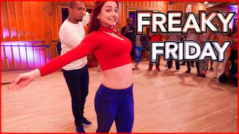 Lil Dicky - Freaky Friday feat. Chris Brown | Zouk Dance | Kadu Pires Larissa Thayane in Atlanta