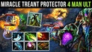 Miracle- Treant Protector WTF NEW META BUILD?! Ethereal Blade Dagon Style Dota 2 Gameplay