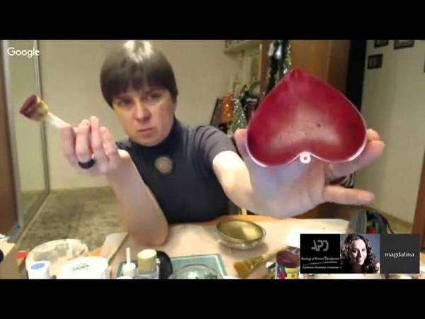 МК Магдалины Соловьёвой Рождественские 3D шары. Ручная работа