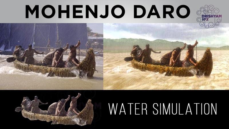 Mohenjo Daro Water Simulation Drishyam VFX