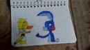 Мои рисунки фнаф3