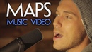 Maps - Maroon 5 - Official RUNAGROUND Music Video Lyrics Version (Cover)