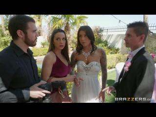 Abigail mac & felicity feline (bisexual bride) [2018, big naturals,big tits worship,lesbian,natural tits,sex toys, hd 1080p]