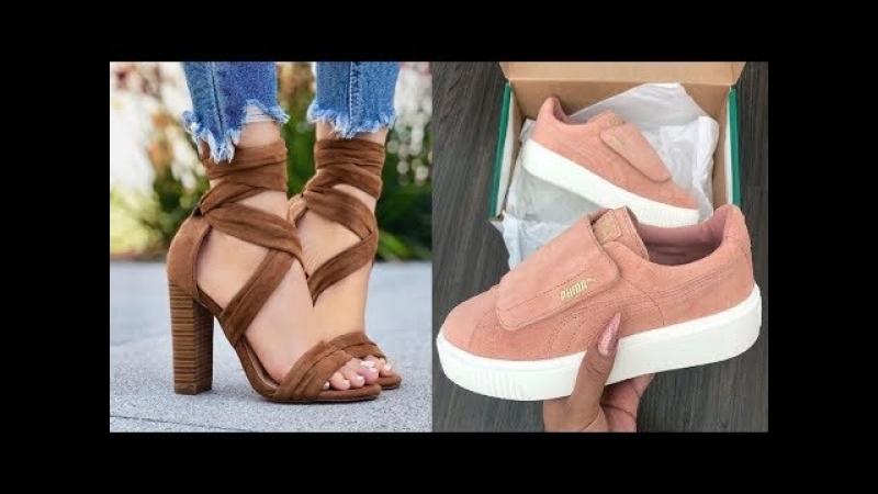 Модная обувь 2018 Gucci Chanel. » Freewka.com - Смотреть онлайн в хорощем качестве
