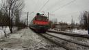 Электровоз ВЛ10-1750 с грузовым