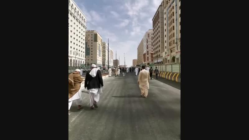 المسجد النبوي اليوم قبيل أذان الجمعة Masjid Al-Nabawi today 💙
