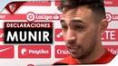 """Munir: """"Ha sido un partido muy completo que ha tenido su recompensa"""""""