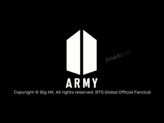 [5th ARMY ROOM] Message to ARMY by. JHOPE