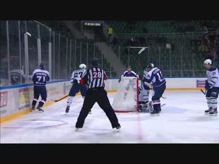 Григорий Мищенко удваивает счет в большинстве - 2:0