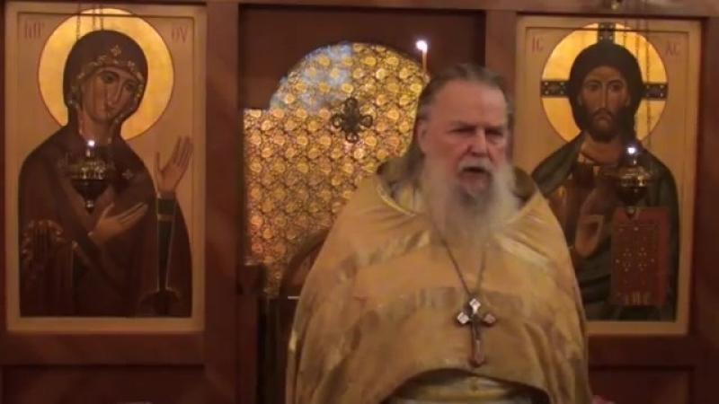 Священник Павел Адельгейм Проповедь в храме свв Жён мироносиц Псков 10 2012
