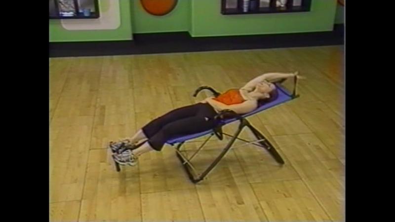 Ab Lounge 2 Workout Video аэробика, шейпинг, фитнес