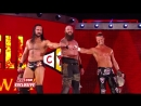 Braun Strowman, Dolph Ziggler, Drew McIntyre mock The Shield