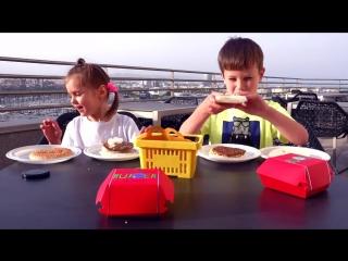 [Miss Katy] Бургер ЧЕЛЛЕНДЖ или BURGER CHALLENGE