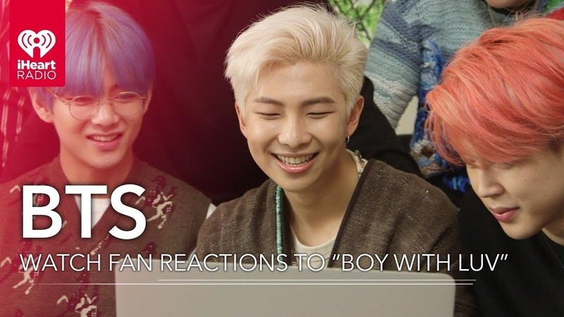 BTS React To Fans Watching Boy With Luv Music Video For The First Time!