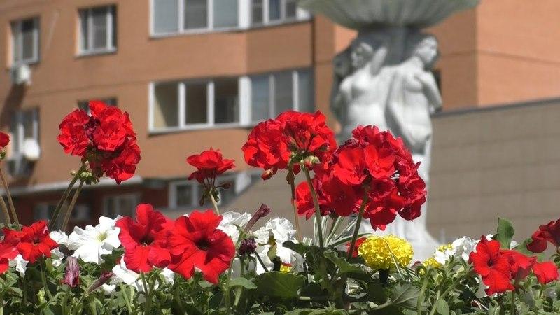 DZR life 2018-05-09 Открытие сезона фонтанов 9 мая День Победы г.Дзержинский