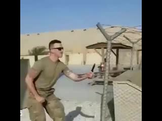 Самооборона от ножа! работает на все 100%
