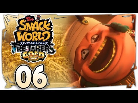 The Snack World: Trejarers Gold   King Oyster City! [Chapter 6 on Nintendo Switch]