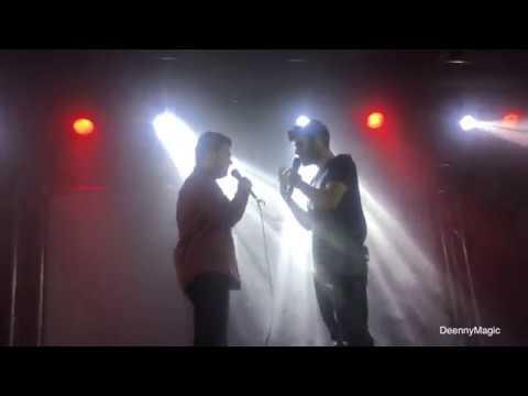 Agoney y Marc Pascual - Mientes Concierto de Valencia (Sala Moon 9.11.2018)