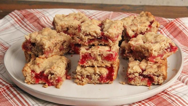 Breakfast Cranberry Oatmeal Bars Ep 1303