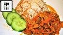 Что приготовить на ужин Турецкий рассыпчатый рис и жареное мясо Чобан Кавурма